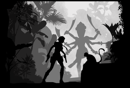 tomb_raider_iii___silhouette_art_by_red8ull-d80gvul