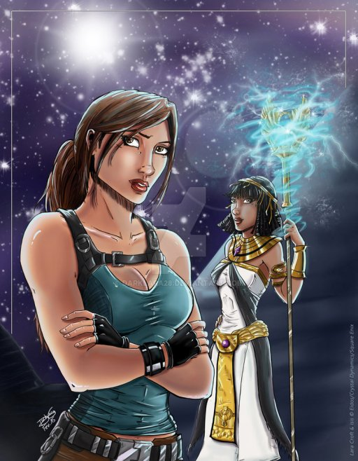 temple_of_osiris___lara_and_isis_by_darklara28-da6y5bs