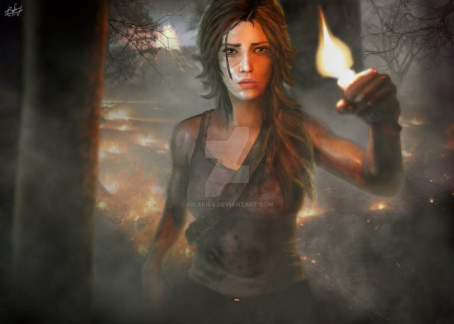 lara_croft_young__tomb_raider_2013__by_kidakiss-d5va1ke