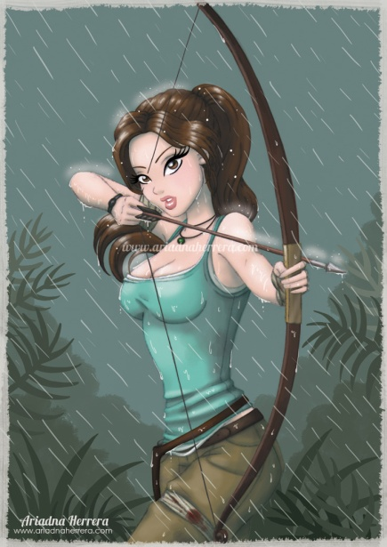 tomb_raider__lara_croft_fan_art_by_ariartna-d5s953o