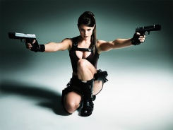 Alison Carroll as Lara Croft