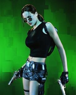 Jill de Jong as Lara Croft