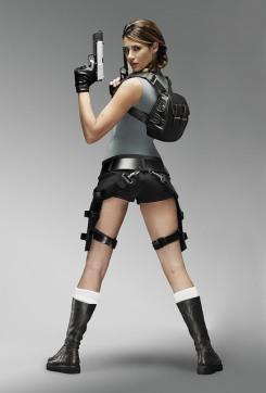 Karima Adebibe as Lara Croft