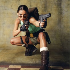 Lara Weller as Lara Croft