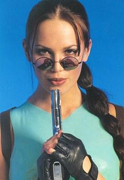 Lucy Clarkson as Lara Croft