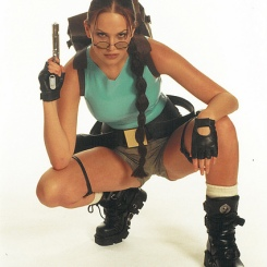 Lucy Clarkson as Lara Croft