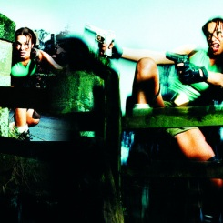 Nell McAndrew as Lara Croft
