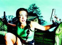 Nell McAndrew as Lara Croft