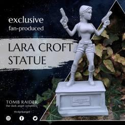 Exclusive Lara Croft statue