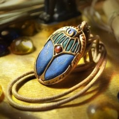 Exclusive Scarab pendant by J. Milward